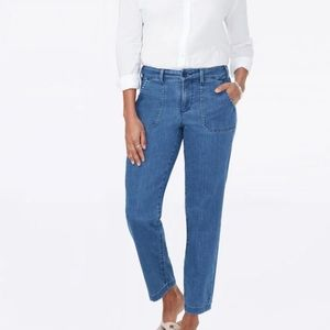 Size 12 | NYDJ Straight Ankle Chino Peralta Jeans
